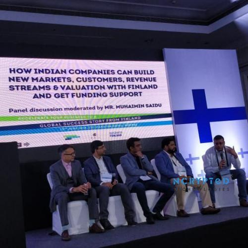 Kunal Pandya(CEO, NCrypted) in a discussion on how Indian companies can do better in Finland markets.