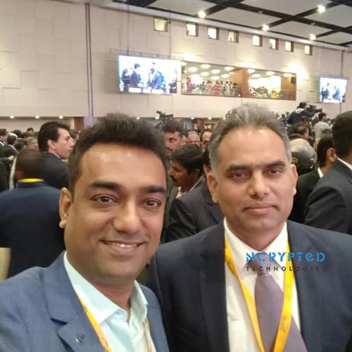 Mr. Kunal Pandya at Vibrant Gujarat Inaugural Summit 2019