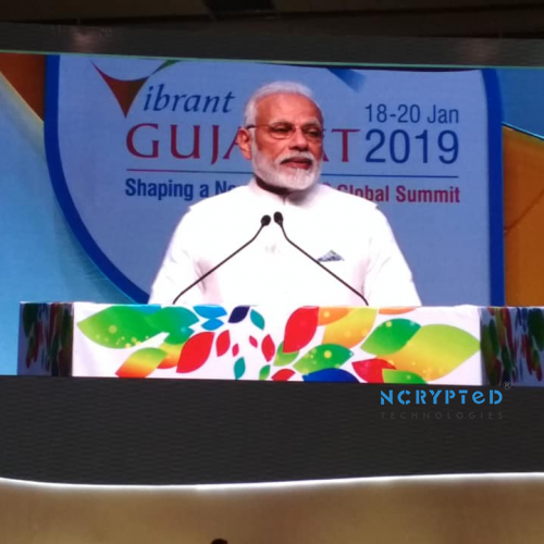 It was Thrilling to see PM Modi Speaking Live about Vision India 2022