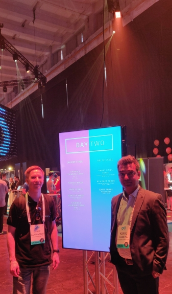 Team NCrypted at One of the Biggest Startup Events in Finland