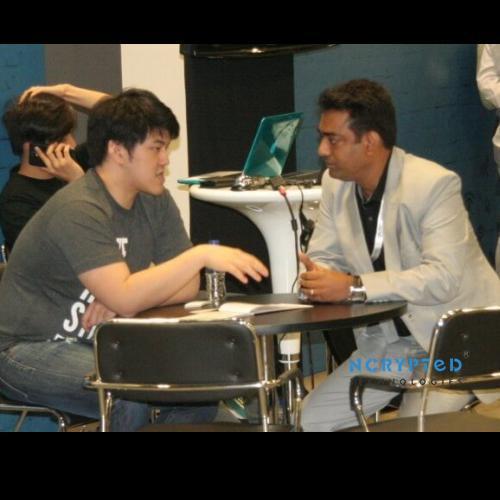 Kunal Pandya in a dialogue with Kaspar Zhou of 500 Startups