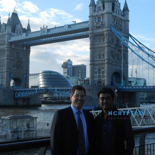 Kunal Pandya with Brian Smith