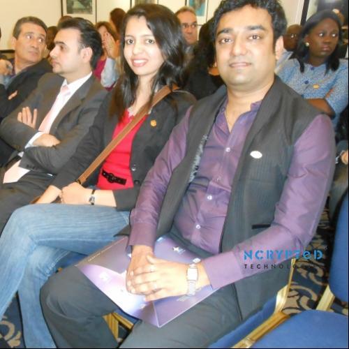 Kunal and Purvi Pandya at IQC London