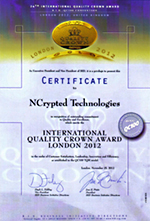 International Quality Crown to NCrypted