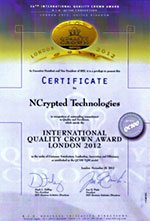 International Quality Crown Award